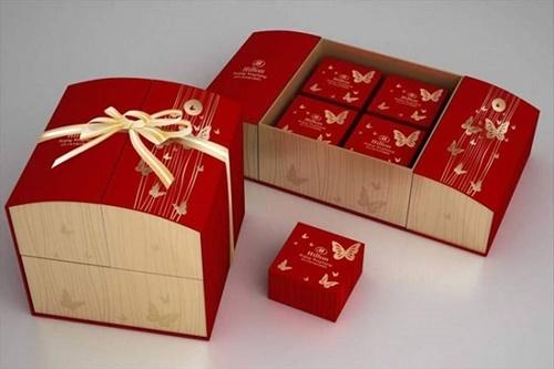 Mẫu hộp bánh trung thu hộp quà