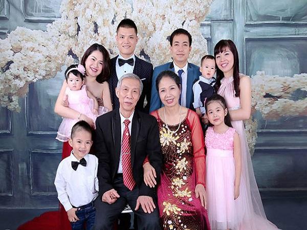 Khung ảnh gia đình
