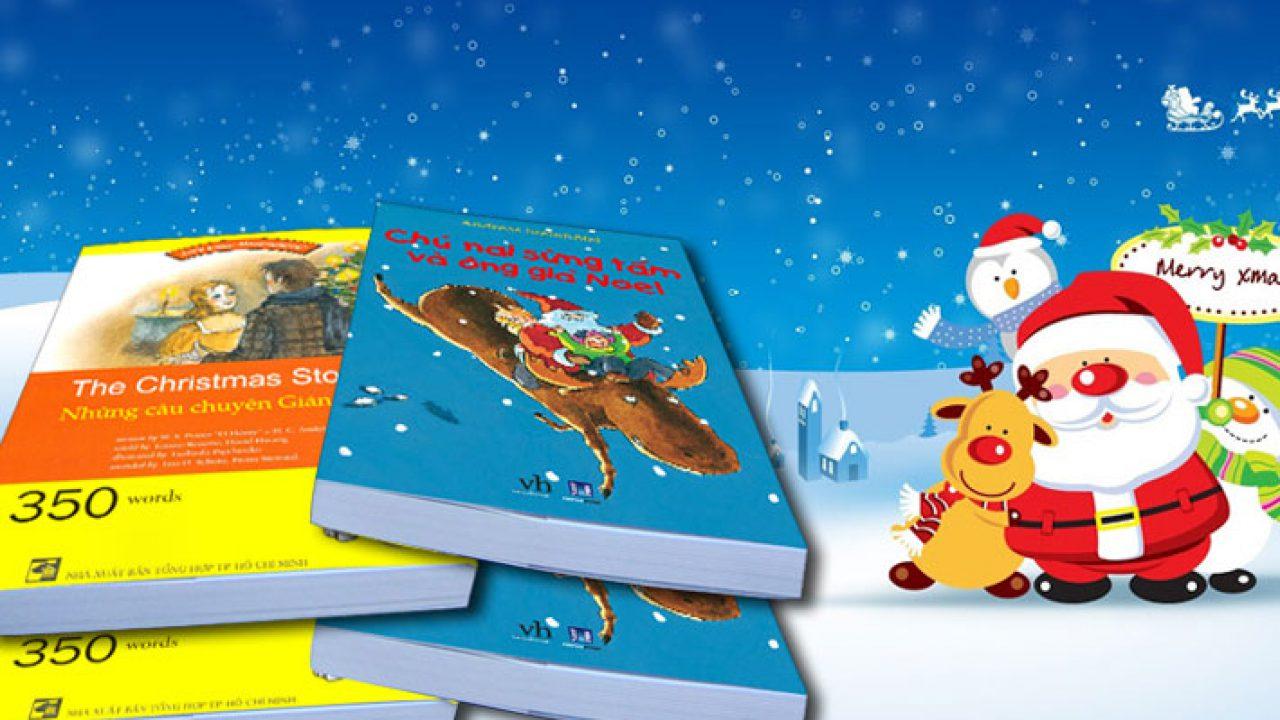 Mua quà noel là những quyển sách siêu đáng yêu tặng bé