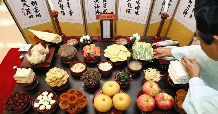 Thu tịch tiết là dịp để người Triều Tiên bày tỏ lòng biết ơn với tổ tiên