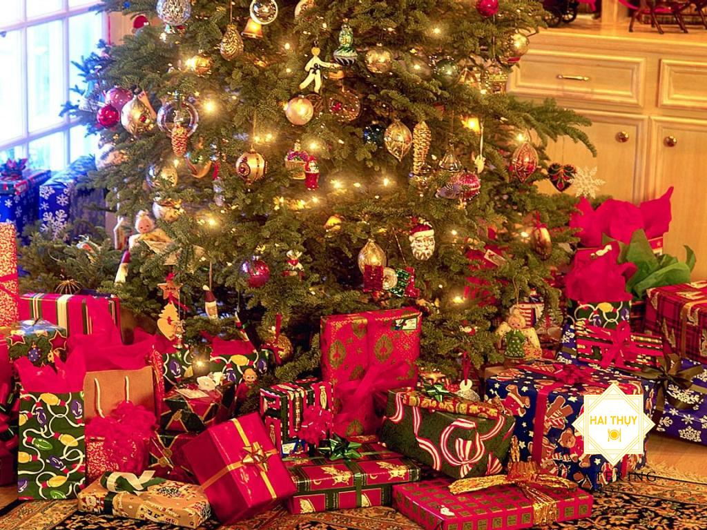 Tổ chức tiệc giáng sinh tại nhà