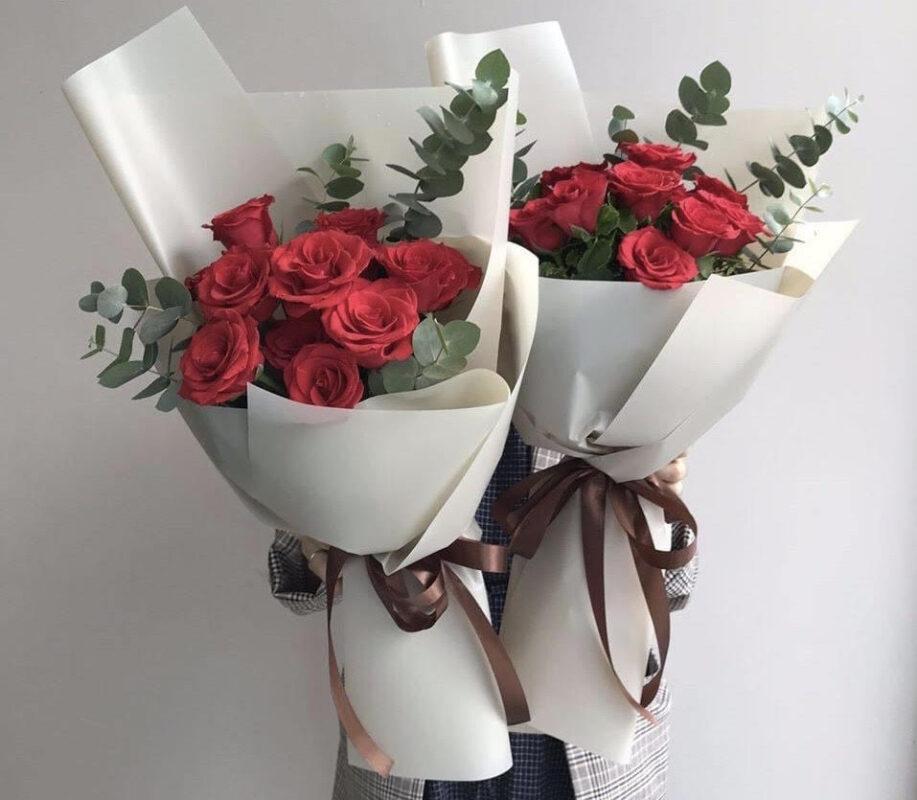 Tặng bó hoa xinh xắn làm quà