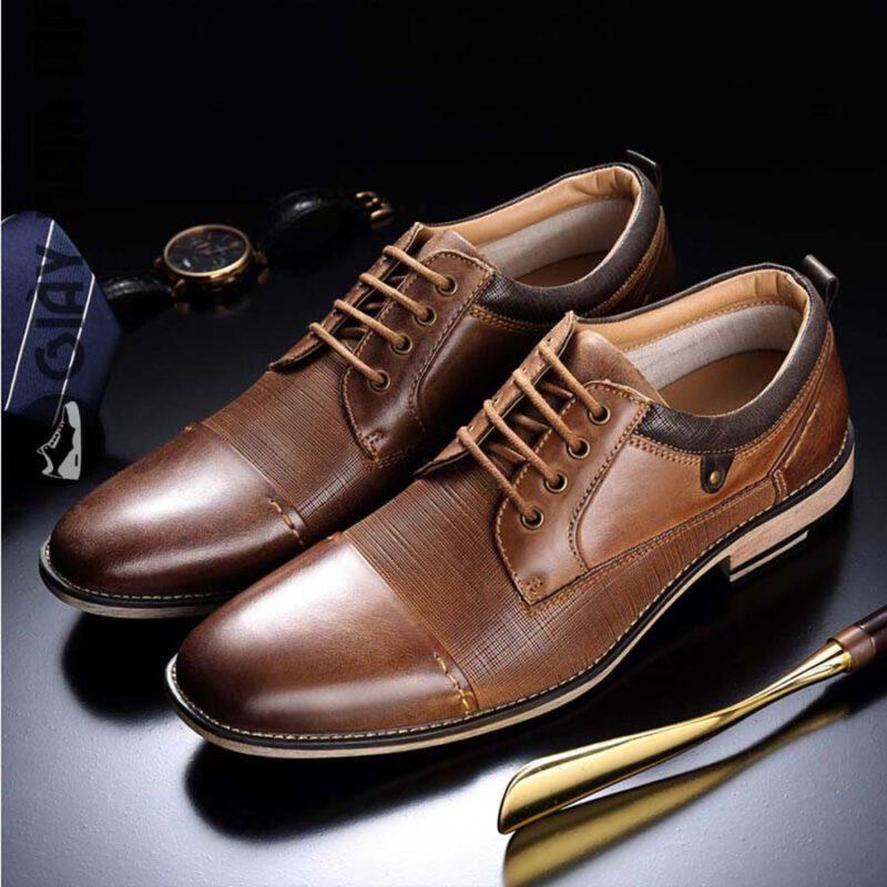 Giày dép cao cấp làm quà cho bố