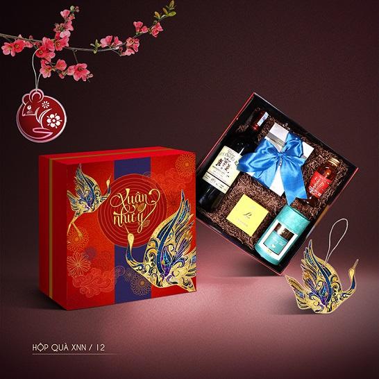 Mẫu hộp quà Tết Xuân Như Ngọc 12
