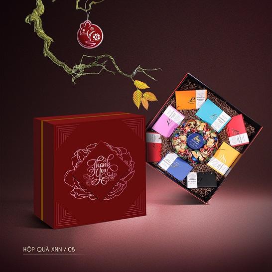 Mẫu hộp quà Tết Xuân Như Ngọc