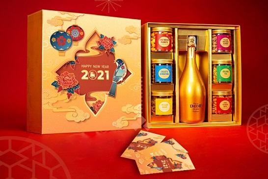 Mẫu hộp quà tết An Khangtrao gửi ý nghĩa về những tháng ngày hạnh phúc trọn vẹn