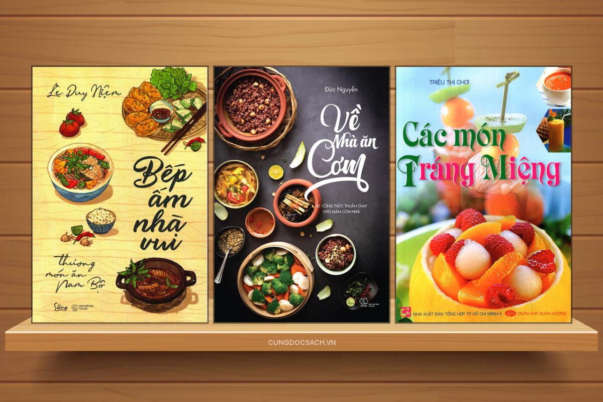 Sách dạy nấu ăn món quà ý nghĩa