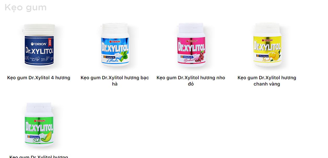 Kẹo gum - kẹo cao su