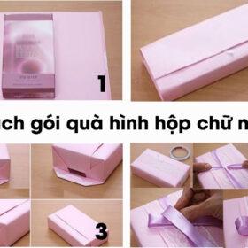 Hướng dẫn chi tiết cách gói quà bằng giấy đẹp đơn giản ít ai biết