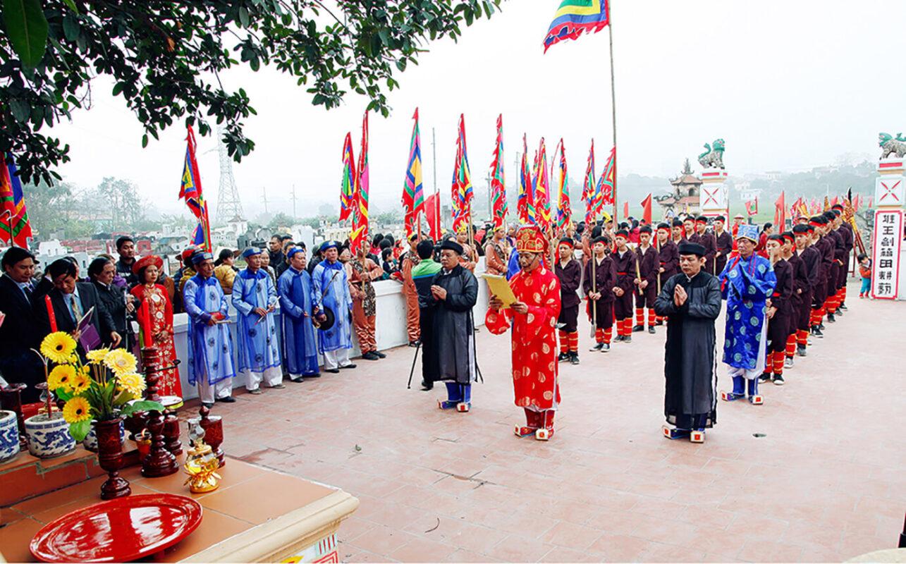 Ngày lễ giỗ tổ Hùng Vương